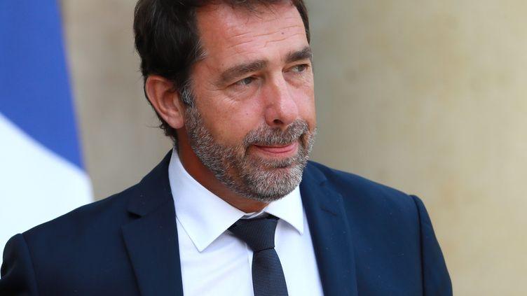 Christophe Castaner, le 21 août 2019. (MUSTAFA YALCIN / ANADOLU AGENCY / AFP)