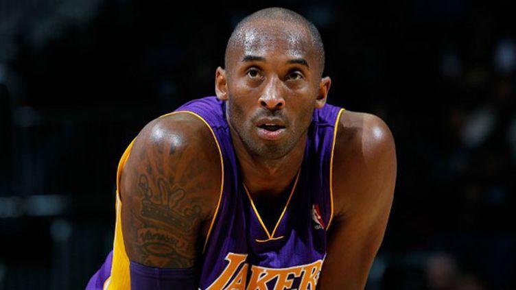 Le joueur des Lakers Kobe Bryant