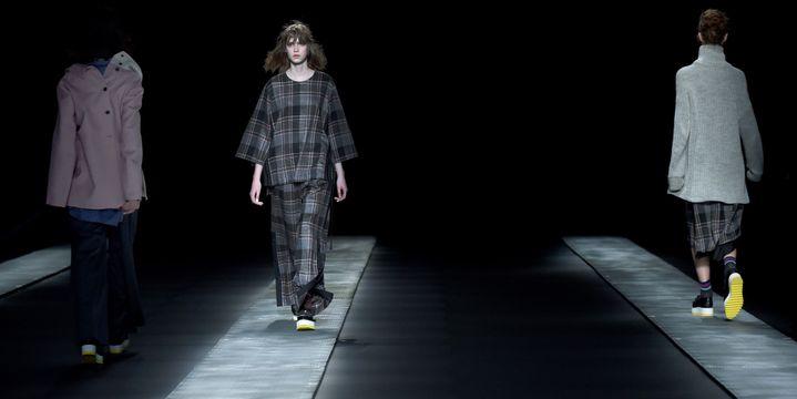 Ujoh ah 2017 à la Tokyo Fashion week, mars 2017..  (Toru YAMANAKA / AFP)