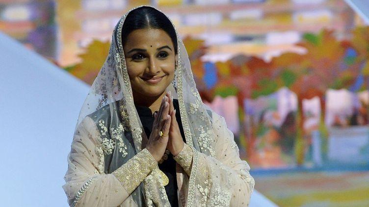 Vidya Balan, cérémonie d'ouverture du festival de Cannes 2013  (ALBERTO PIZZOLI / AFP)