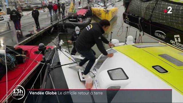 Vendée Globe : le difficile retour des skippers sur terre
