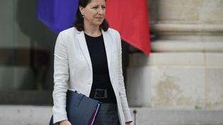 La ministre de la Santé et des Solidarités, Agnès Buzyn, le 19 juillet 2017 à l'Elysée. (MARTIN BUREAU / AFP)