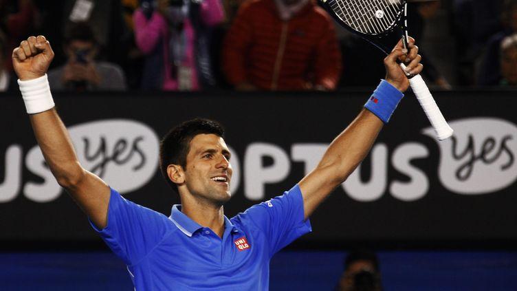 (Novak Djokovic remporte l'Open d'Australie. © Reuters / David Gray)
