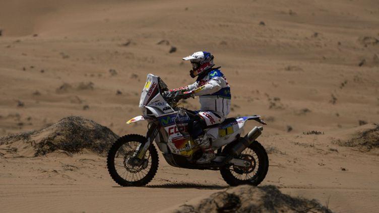 Chaleco Lopez (KTM) entre Copiapo et La Serena