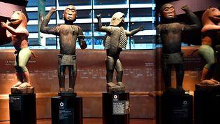 Statues du royaume de Dahomey, Musée du Quai Branly  (GERARD JULIEN / AFP)