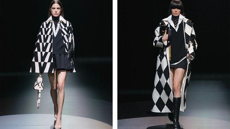Valentino automne-hiver 2021-22auTeatroPiccolo de Milan lors dela Fashion Week de Milan, le 1er mars 2021 (Valentino)