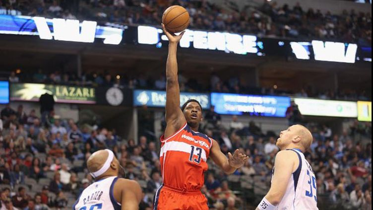Kevin Séraphin (Washington Wizards) (RONALD MARTINEZ / GETTY IMAGES NORTH AMERICA)