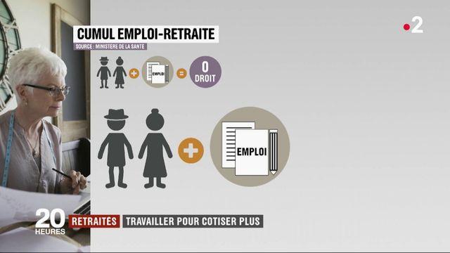Travail : un cumul emploi-retraite pour cotiser davantage ?