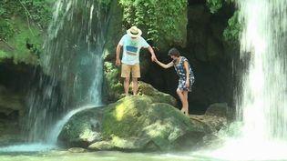 Les cascades du Grand Baou (Var) sont un site naturel protégé, mais une propriété privée. Heureusement, son accès reste ouvert au public pour le plus grand bonheur des habitants comme des vacanciers. (France 3)