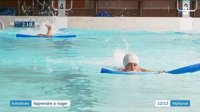 Initiatives : des cours de natation pour enfants à Marseille