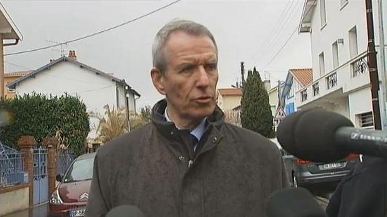 Le procureur de Toulouse, Michel Valet, le 19 mars 2012 à Toulouse (Haute-Garonne). (FTVI / FRANCE 2)