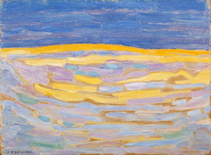 """Piet Mondrian, """"Dune I"""", 1909 (© Kunstmuseum Den Haag, The Hague, the Netherlands)"""