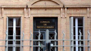 La façade du Conseil des prud'hommes de Toulouse (Haute-Garonne). (ERIC CABANIS / AFP)