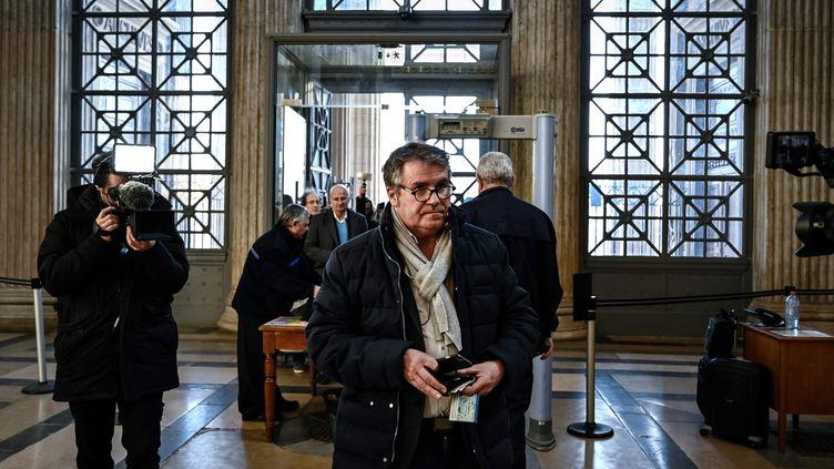 Paul François, le 6 février 2019 à la cour d'appel de Lyon (Rhône). (JEFF PACHOUD / AFP)