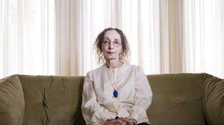 L'écrivaine Joyce Carol Oates à Jérusalem le 12 mai 2019 (ODED BALILTY/AP/SIPA / AP)