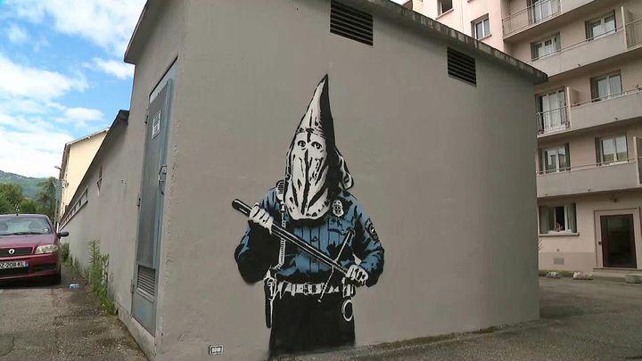 """KKKops"""" by Goin - 2 rue Henri Bergson, Grenoble (France 3 AURA)"""