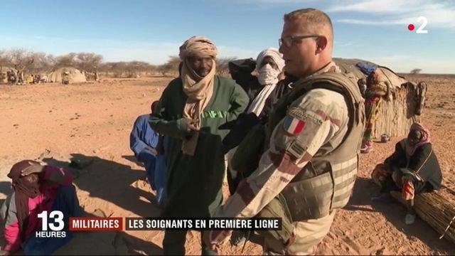 Militaires : les soignants en première ligne