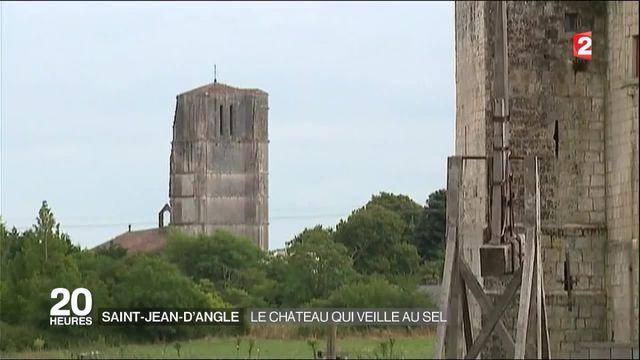 À la découverte du château fort de Saint-Jean-d'Angle