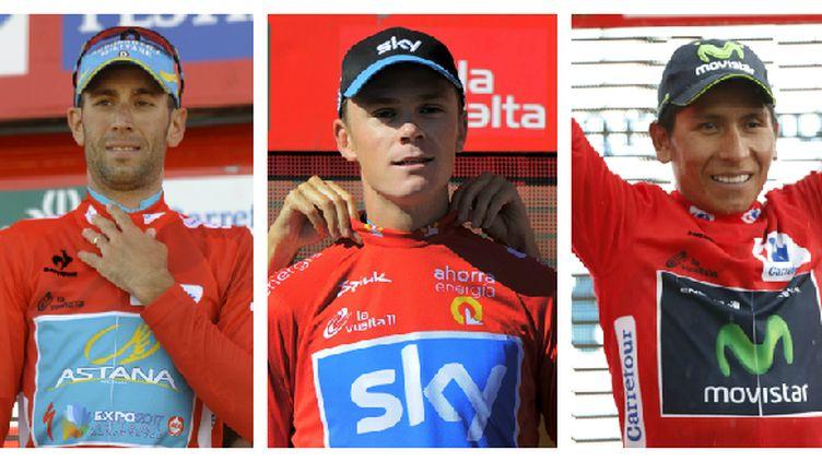 Vincenzo Nibali, Christopher Froome et Nairo Quintana ont déjà porté le maillot rouge de leader de la Vuelta. Cette année, à qui le Tour ?