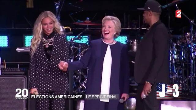 Élections américaines : sprint final pour Donald Trump et Hillary Clinton