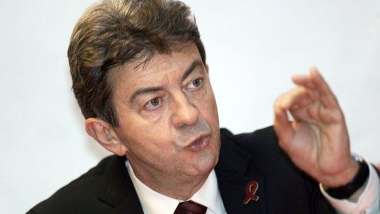 Jean-Luc Mélenchon à talence (1er décembre 2012) (JEAN-PIERRE MULLER / AFP)