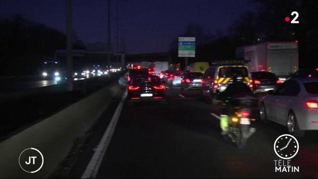 Grève : le trafic routier reste très perturbé autour de Paris