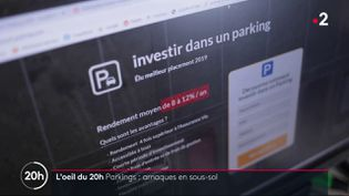 Investir dans un parking: gare aux arnaques! (FRANCE 2)