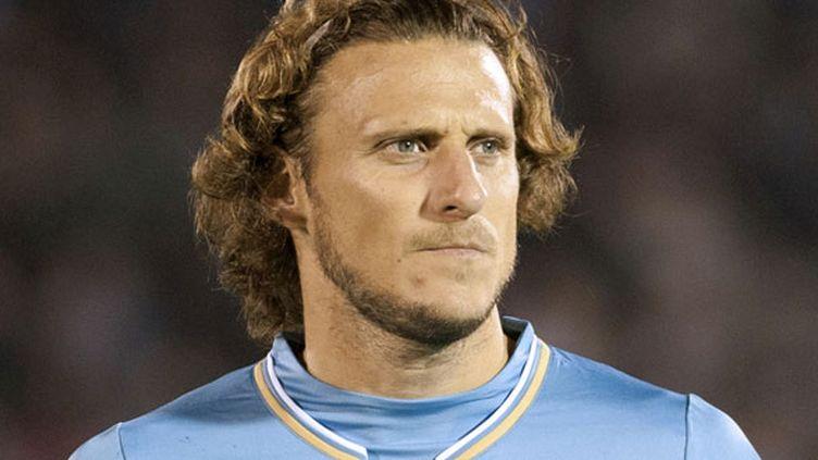 L'attaquant uruguayen Diego Forlan