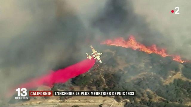 Californie : des incendies meurtriers font une trentaine de morts