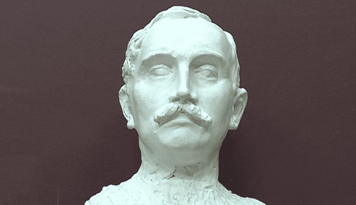 """""""Buste de Paul Claudel à trente-sept ans"""", le dernier portrait de Camille Claudel, 1905  (Camille Claudel/Capture d'image Culturebox)"""