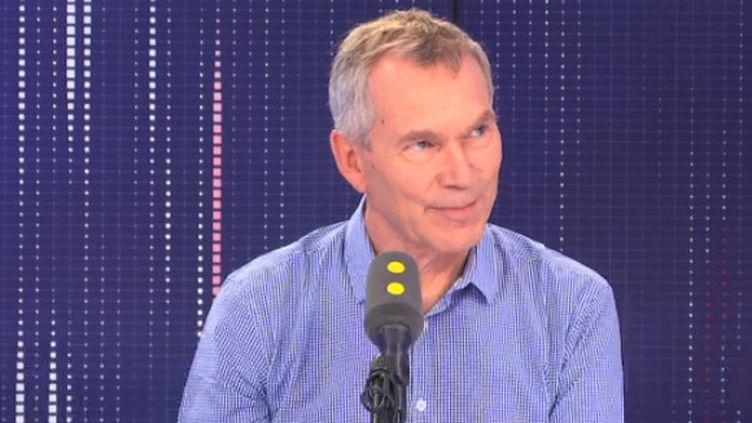 Jacques Battistoni, président du syndicat MG France, sur franceinfo le jeudi 25 juillet. (FRANCEINFO)