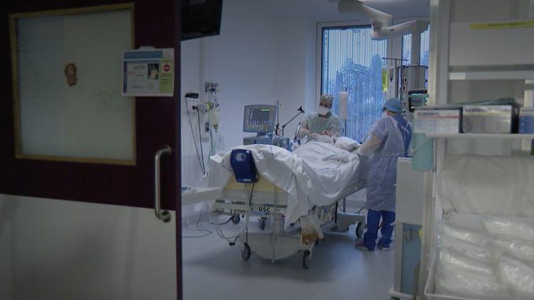 Chambéry : un hôpital sous tension le soir de Noël. (Capture d'écran/France 3)