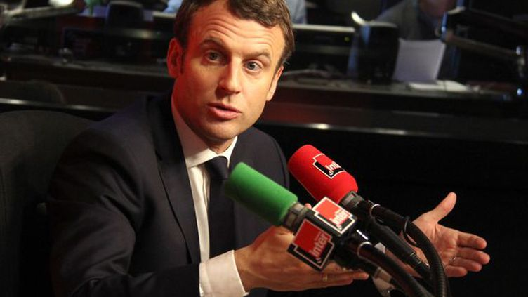 Emmanuel Macron au lendemain du débat de l'entre-deux tours de la présidentielle 2017. (Anne Audigier / Radio France)