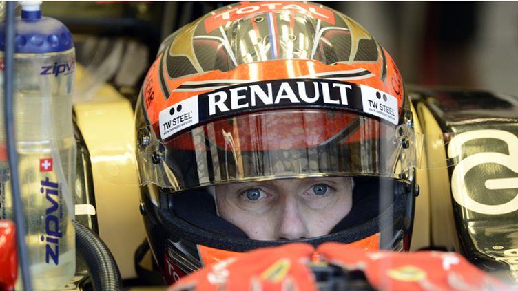 Romain Grosjean, le pilote français de l'écurie Lotus