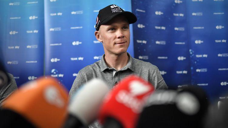 Chris Froome (MARCO BERTORELLO / AFP)