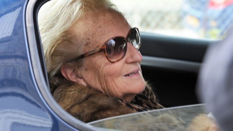 Bernadette Chirac (20 mars 2011) (AFP/JEAN-PIERRE MULLER)