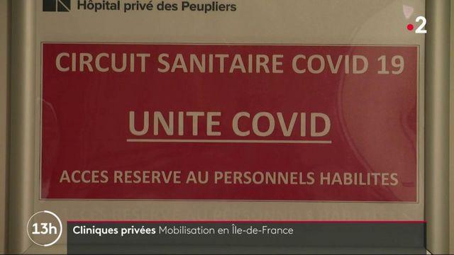 Covid-19 : les cliniques et hôpitaux privés mobilisés en Ile-de-France