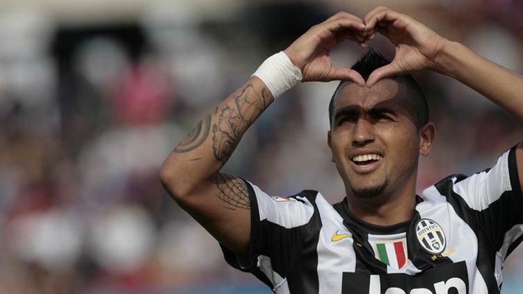 Vidal, double buteur de la Juve