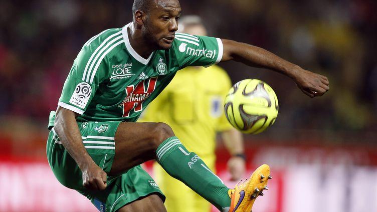 Kevin Théophile-Catherine sous le maillot vert (VALERY HACHE / AFP)
