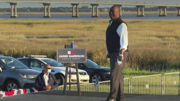 La potentielle victoire de Jaime Harrison en Caroline du Sud serait symbolique. Il s'agit d'un État conservateur depuis 15 ans, qui demeure marqué par son passé esclavagiste. (FRANCEINFO)