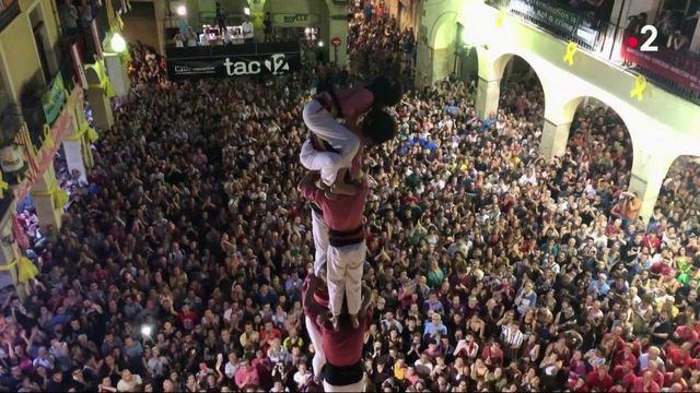 Patrimoine : les pyramides humaines, une véritable tradition en Catalogne