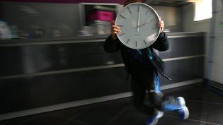 Illustration sur le changement d'heure, mars 2014 (  MAXPPP)