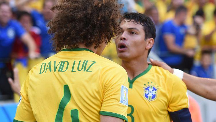 David Luiz a été retenu par Dunga, pas Thiago Silva (MARIUS BECKER / DPA)