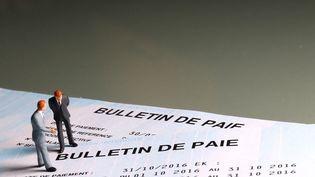 Bulletin de paie. Image d'illustration. (MAXPPP)