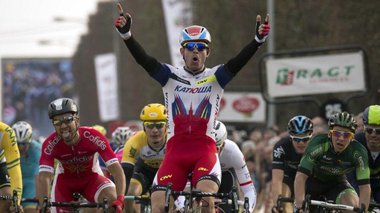 Alexander Kristoff (LIONEL BONAVENTURE / AFP)