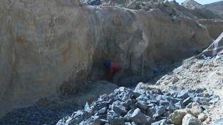 Le pillage des fossiles au Maroc (Capture d'écran France 2)