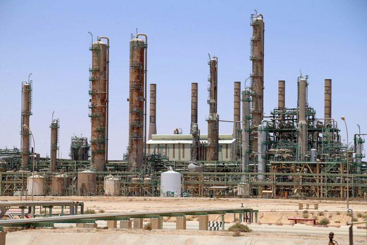 La raffinerie de Ras Lanouf a repris sa production en juin 2020, après six mois d'interruption. (- / AFP)
