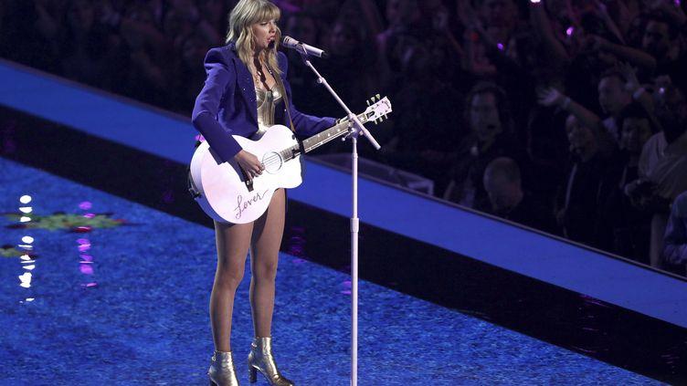 Taylor Swift aux MTV Video Music Awards au Prudential Center à Newark, New Jersey, le 26 août 2019 (MATT SAYLES/AP/SIPA / SIPA)