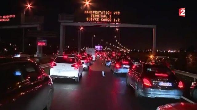 Conflit Taxis / VTC : de nouvelles perturbations en Ile-de-France