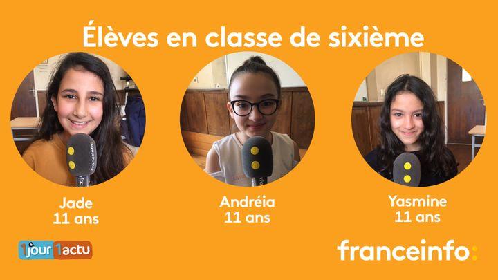 franceinfo junior, une émission en partenariat avec 1jour1actu.com. (FRANCEINFO / RADIOFRANCE)
